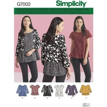 Schnittmuster Simplicity 7002